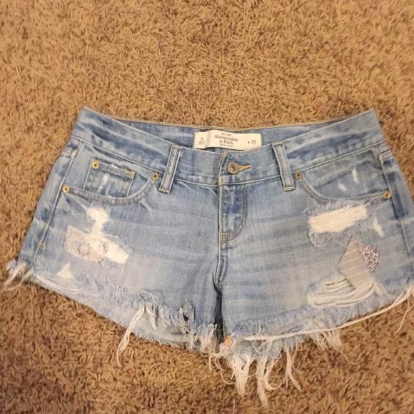 Abercrombie & Fitch Pants - Denim Cutoffs Size 25/0